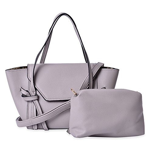 Large Cm Colour Strap Size Handbag Set 35x22x13 Adjustable of 5x14x7 and Small with Removable and 20 2 Grey Shoulder Cm wawAIxC