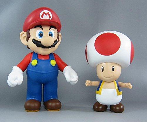 Japan Import Super Mario DX Soft Vinyl Figure 7 set of 2 [sale]