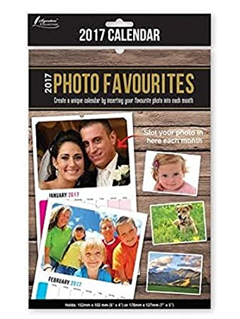 2017 insert create print your own photos a4 spiral bound wall 2017 insert create print your own photos a4 spiral bound wall hanging calendar diy do it solutioingenieria Images