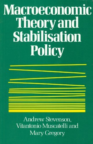 Macroeconomic Theory and Stabilisation Policy