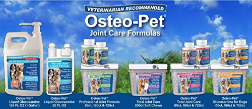 Image of Osteo Pet Glucosamine for Dogs with Chondroitin, MSM, HA, Boswellia Extract and More - 720 Ct Value Size