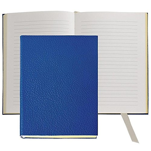 The MILLENNIAL JOURNAL Pebble Grain Cobalt-Blue Leather by Graphic Image™ - 6x8 by Graphic Image