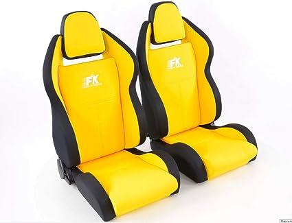 Par de asientos deportivos ergonómicos para carreras, color ...