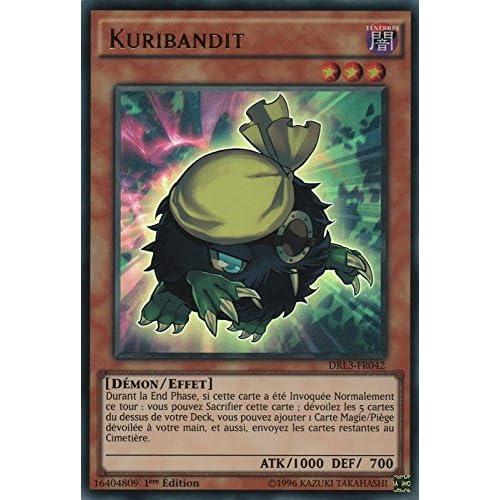 "Carte Yu-Gi-Oh! ""Kuribandit"" DRL3-FR042 - VF/ULTRA RARE"
