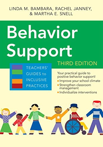 Behavior Support (Teachers' Guides)