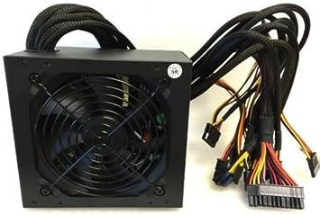 Quiet 750 Watt for Intel AMD PC ATX Power Supply SATA PCI-E 20//24 PIN 12cm Fan