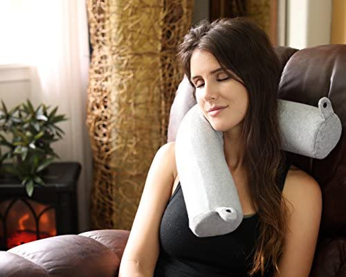 DotDot Bendable Memory Foam Travel Pillow One Size Blue