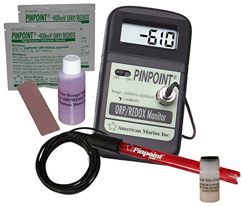 Pinpoint ORP Meter KIT Lab Grade Portable Bench Meter Kit for Alkaline/Hydrogen-Rich/Ionized/Kangen Water