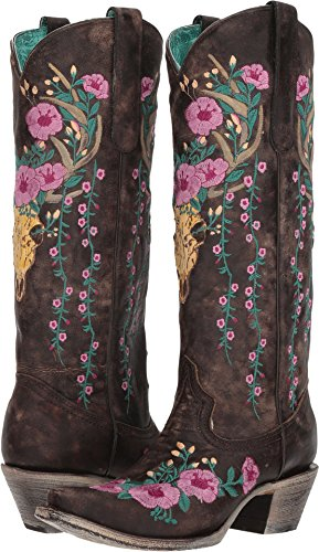 Corral Boots Women's A3621 Brown 8.5 B US