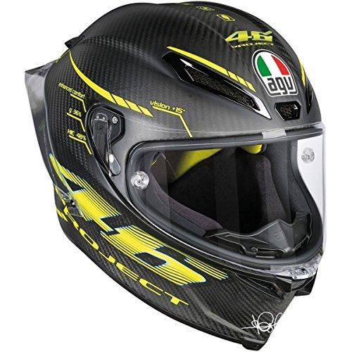 AGV pista GP R Proyecto 462.0Full Face–Casco para hombre negro 2X L