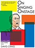 On Singing Onstage, Acting Series - Full Set of 6 DVDs