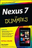 Nexus 7 for Dummies (Google Tablet), Dan Gookin, 1118508734