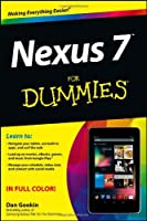 Nexus 7 For Dummies Front Cover