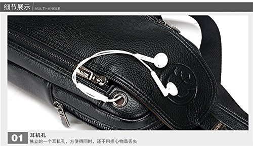 hongrun Mens poitrine pack fashion-men et le porte-monnaie plein air de luxe classique obligatoire FFZFKCboiE