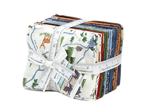 Holly Taylor River Journey 26 Fat Quarters 1 Panel Moda Fabrics - Stores River Oaks