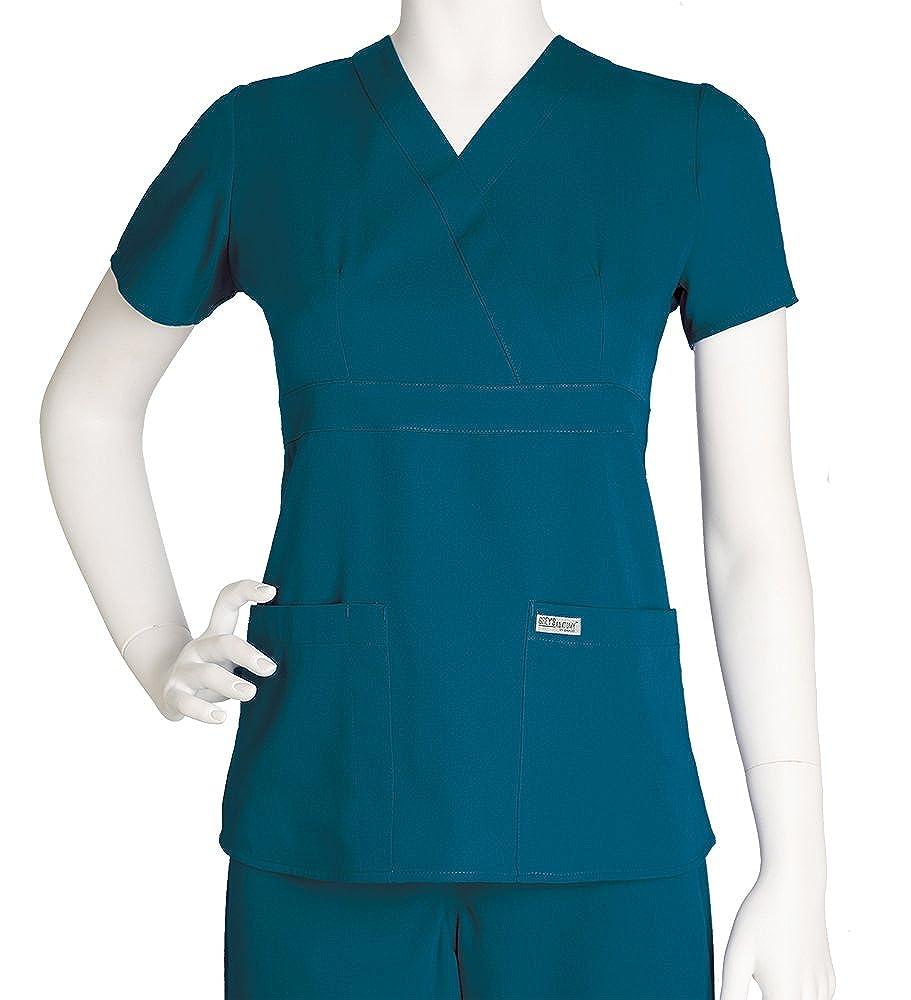 Greys Anatomy Junior Fit Three Pocket Mock Wrap Image 3
