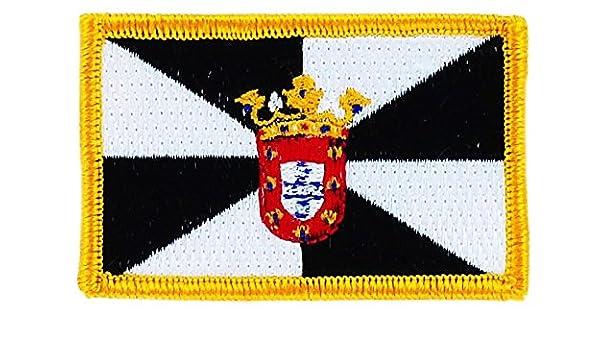 Patch Escudo bordado bandera de España ceuta español termoadhesiva backpack: Amazon.es: Hogar