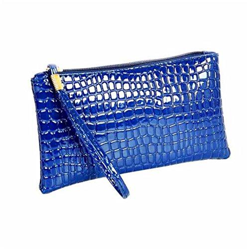 hanyi-new-women-artificial-crocodile-leather-clutch-handbag-bag-coin-purse-blue