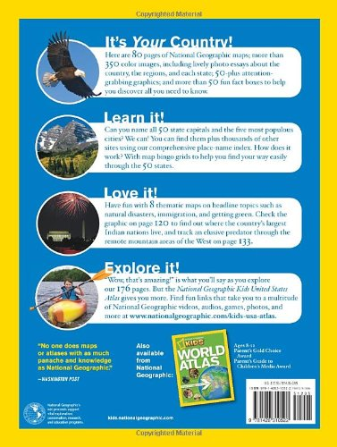National Geographic Kids United States Atlas National Geographic 9781426310522 Amazon Com Books