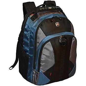 Amazon.com: SwissGear Pulsar 16 Padded Laptop Backpack - Black ...