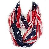 vintage american flag scarf - American Flag Scarf (TH25N)