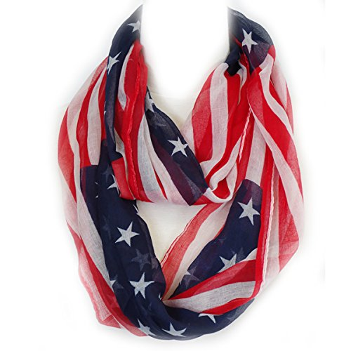 American Flag Scarf (TH25N) - Flag Scarf