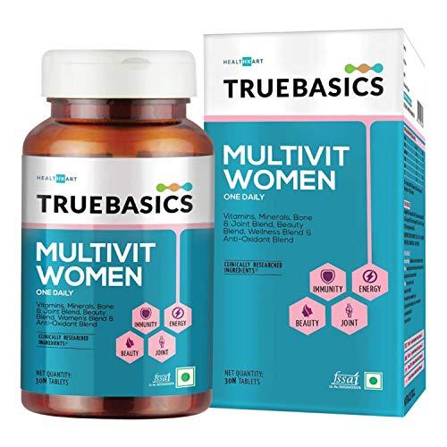 TrueBasics Multivitamin Women + Truebasics Multivitamin Men (Combo), 30 Tablets/pack