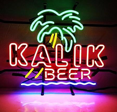 "New Kalik Palm Beach Sunshine Neon Light Sign 19/""x15/"""