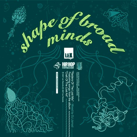 Shape of Broad Minds – Raiders of the Lost Mix.2007. Cd. 1 - Broad Shape