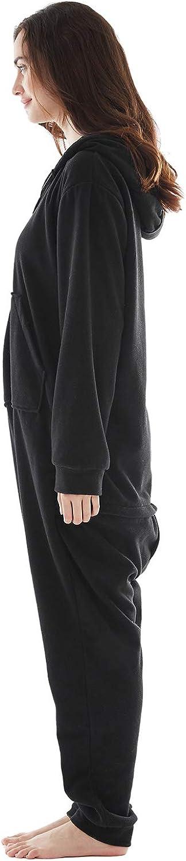 excelente para Invierno Pijama en Tejido Franela Polar Suave y c/ómodo para Toda la Familia Pijama Hombre Mujer