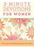3-Minute Devotions For Women Paperback Book