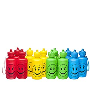 Kids Water Bottles One Dozen