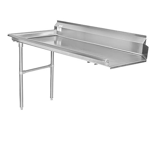 Gusto 30 x 60 Stainless Work Table w// 2 Backsplash