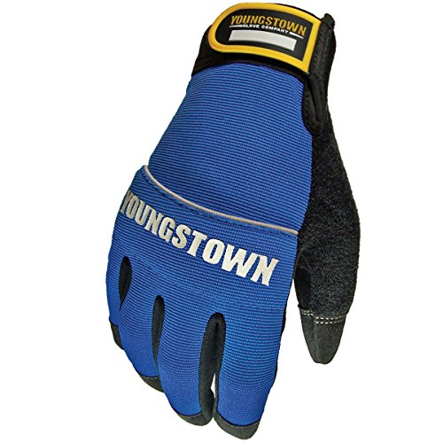 Youngstown Glove 06-3020-60-XXL Mechanics Plus Performance Glove XXLarge, Blue