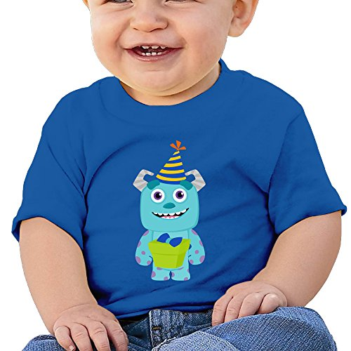 Monsters Inc Party Customed Baby Boy Girl Tee Cotton (Monsters Inc Clothes For Girls compare prices)