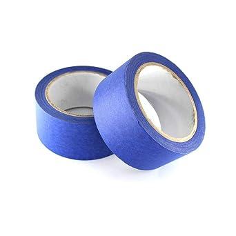 Befenybay 2 rollos de cinta azul para pintores, 48 mm x 30 m, para ...