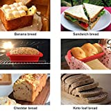 Silicone Bread and Loaf Pan - SILIVO Non-Stick