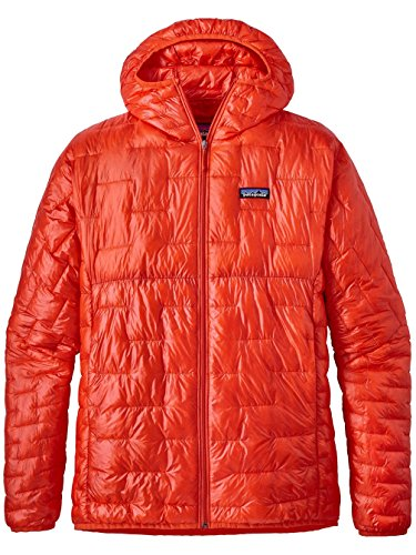 Patagonia Men's Micro Puff Hoody Paintbrush Red Size L