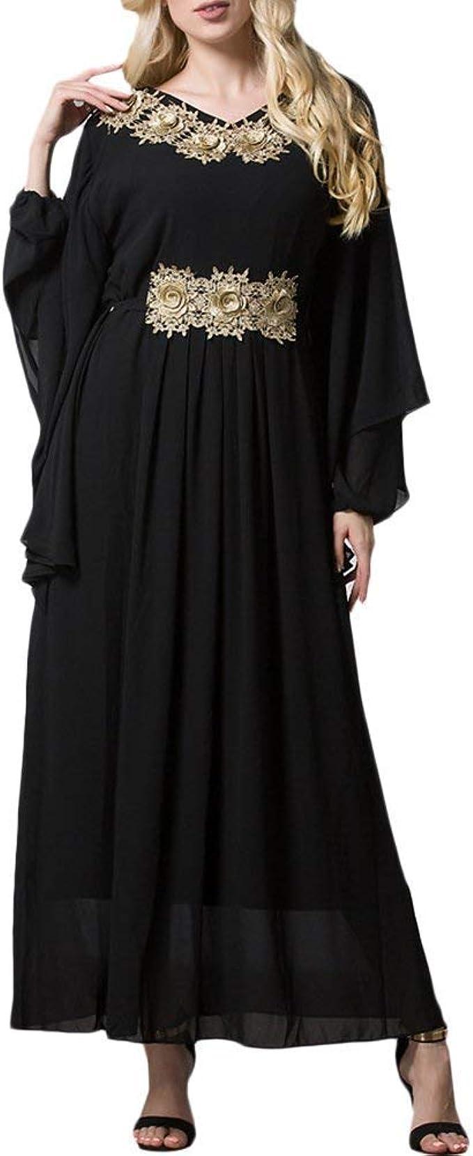 Somoll Muslime Abaya Kleid Kaftan/Kaftan türkische Roben Kleider