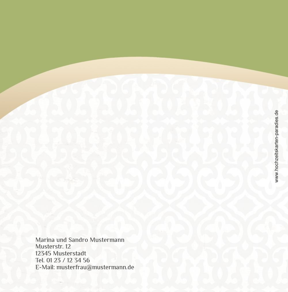 Kartenparadies Danksagung Danksagung Danksagung für Hochzeitsgeschenke Hochzeit Dankeskarte Unzertrennlich, hochwertige Danksagungskarte Hochzeitsglückwünsche inklusive Umschläge   20 Karten - (Format  145x145 mm) Farbe  ApfelGrün B01NBX59PE | Starke H 498f73
