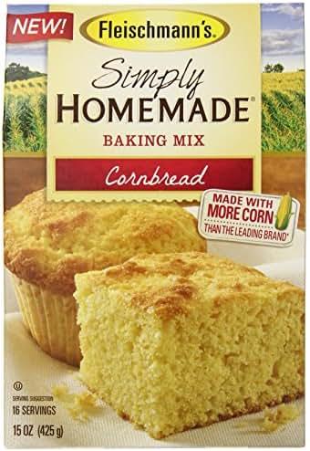 Baking Mixes: Fleischmann's Simply Homemade Cornbread Mix