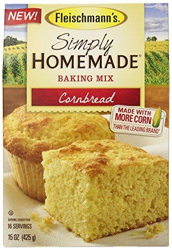 Fleischmanns Simply Homemade Cornbread Mix, 15 Ounce