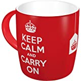 Nostalgic-art-bilderpalette 43009 united kingdom keep calm and carry on pour tasse