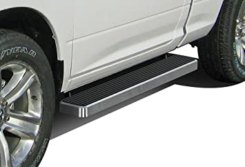 4 Black Eboard Running Boards Nerf Bar | Side Steps Off Roader for 2009-2018 Ram 1500 Regular Cab Pickup 2Dr /& 2010-2018 Ram 2500//3500