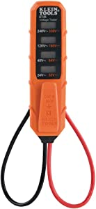 Klein Tools ET45 Voltage Tester, AC Voltage and DC Voltage Tester, No Batteries Needed