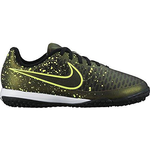 Nike Jr Magista Onda Tf, Zapatillas de Deporte para Niñas Dorado / Verde / Negro (Dark Citron / Drk Citron-Blk-Vlt)