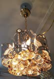 (600mm)jhoomar ceiling light decorative chandelier with three color and sound system15