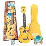Mahalo UK-30Y Painted Economy Soprano Ukulele Outfit (Yellow, Carrying Bag)