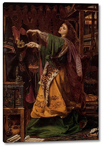 Morgan le Fay by Anthony Frederick Sandys - 15