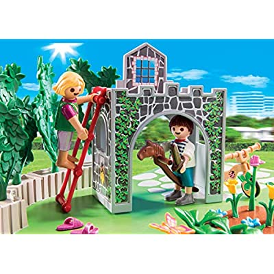 PLAYMOBIL SuperSet Family Garden: Toys & Games